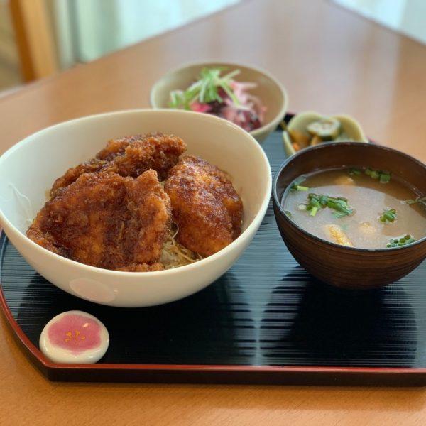 信州福味鷄のソースチキンカツ丼